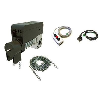Automatizare usa de garaj industriala cu buton sau cu inchidere cu cheie