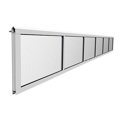 spatii vitrate pentru usa de garaj industriala