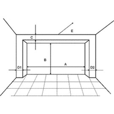Schema usii de garaj industriala